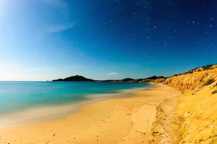 Cabo Pulmo bay scenics. Baja California sur, Mexico.